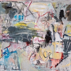 Untitled - Collaborative Painting with Diane Goldstein #2
